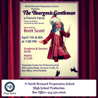 The Bourgeois Gentleman by Moliere - A French Farce in Broadway