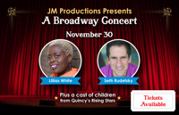 "Tony Award winning & Broadway star Lillias White along with Emmy nominated & Broadway Music Director, Seth Rudetsky who will be joining high school and college students from the ""Rising Stars"" program live on stage for a very special concert. in Boston"
