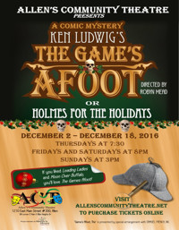 The Games Afoot or Holmes for the Holidays in Dallas