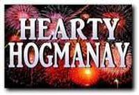 Hearty Hogmanay in Scotland