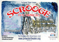 Scrooge The Musical in Broadway