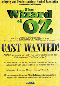 THE WIZARD OF OZ in Scotland