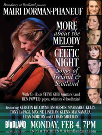 Mairi Dorman-Phaneuf: More About The Melody CELTIC NIGHT in Off-Off-Broadway
