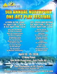9th Annual Northport One-Act Play Festival in Broadway