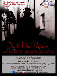 Jack The Ripper (steampunk theatre) Torquay performance in Broadway