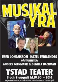 Musikalyra with super stars! in Sweden