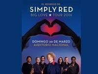Simply Red. Big Love in Mexico