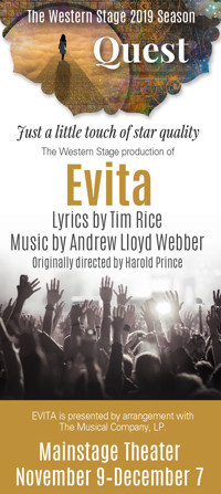 The Western Stage production of Evita in San Francisco
