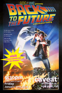 A Drinking Game NYC presents BACK TO THE FUTURE in Off-Off-Broadway