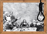 Saltonstall's Trial: One Man Stands in Defense of the Salem Witches in Boston