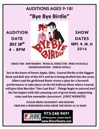 Bye Bye Birdie in New Jersey