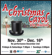 A CHRISTMAS CAROL: the musical in Maine