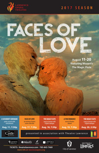 Lawrence Opera Theatre - Faces of Love (evening of opera scenes & arias) in Kansas City