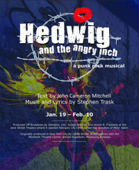 Hedwig and the Angry Inch in Broadway
