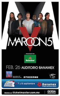 Maroon 5 in Mexico