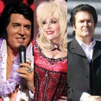 Salute to the Stars - Presley, Parton & Cash in South Bend