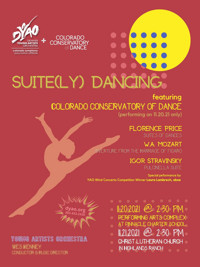 DYAO & Colorado Conservatory of Dance present Suite(ly) Dancing in Denver