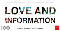 Love and Information in Broadway