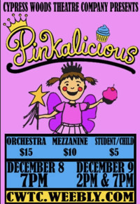 Pinkalicious, The Musical in Houston