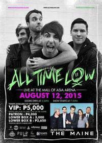 All Time Low in Philippines