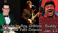 A Tribute to Roy Orbison, Buddy Holly and Fats Domino in Off-Off-Broadway