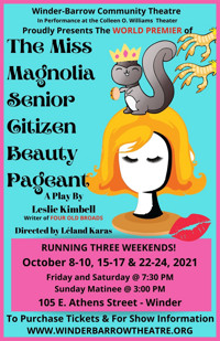 The Miss Magnolia Senior Citizen Beauty Pageant - By Leslie Kimbell in Atlanta