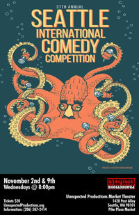 37th Seattle International Comedy Competition in Seattle
