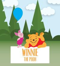 Winnie The Pooh in St. Petersburg