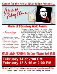Always, Patsy Cline in Tampa/St. Petersburg