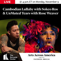 """FirstWorks Spotlights Rhode Island Performing Artists Rose Weaver and Sokeo Ros in The Kennedy Center's """"Arts Across America"""" National Series in Rhode Island"""