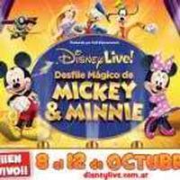Live !: Disney magic Mickey & Minnie Parade in Argentina