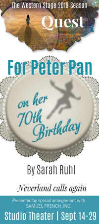For Peter Pan on her 70th Birthday in Broadway