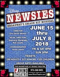 Disney's Newsies in New Jersey