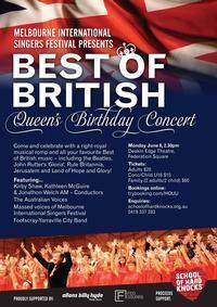 Best of British - Queen's Birthday Concert in Australia - Melbourne