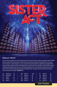 Sister Act the Musical at The Noel S. Ruiz Theatre in Broadway