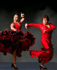 Carolina Lugo's & Carolé Acuña's Ballet Flamenco  in San Francisco