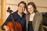 Yo-Yo Ma & Kathryn Stott in recital in Costa Mesa