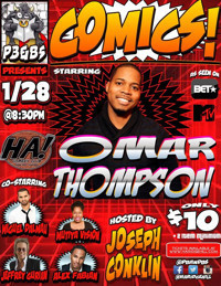 COMICS! starring Omar Thompson in Rockland / Westchester