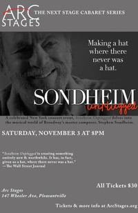 Sondheim Unplugged in Rockland / Westchester