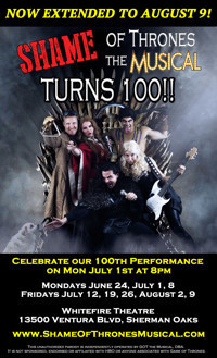 SHAME OF THRONES: The Musical in Broadway