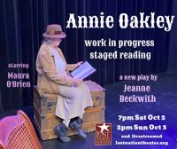 Annie Oakley Staged Reading in Vermont