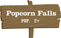 Popcorn Falls in PITTSBURGH