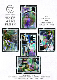 Word Made Flesh 2019-an evening of embodied imaginings in Brooklyn
