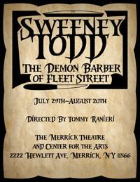 Sweeney Todd:The Demon Barber of Fleet Street in Long Island