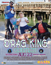 23rd Annual SF Drag King Contest in Off-Off-Broadway