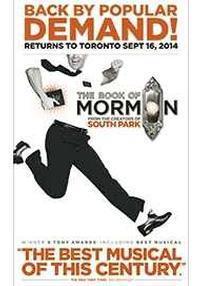 Book of mormon run time toronto