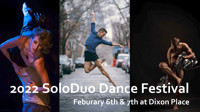 Call for choreographers for the 2022 SoloDuo Dance Festival in Central New York