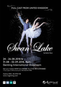 Swan Lake by Ballet West in Malaysia