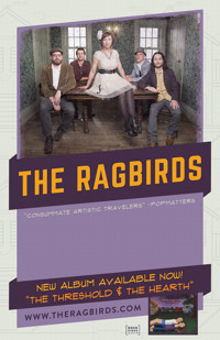 Tibbits Entertainment Series presents The Ragbirds in Off-Off-Broadway