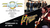 ATLANTA RHYTHM SECTION WITH THE PAT TRAVERS BAND in Jacksonville Logo